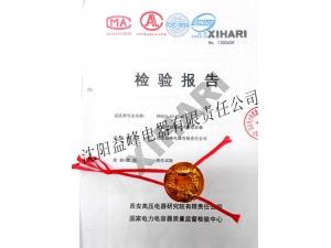 国家电力电容器质量监督检验中心低压电容器2013年检验报告